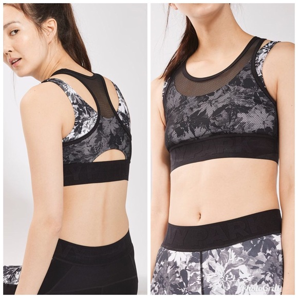 8b83e53882 Ivy Park Other - Ivy Park double layered floral sports bra